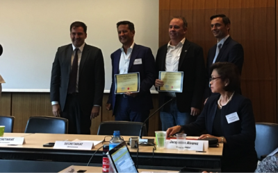 """Pirrone awarded with UNEP """"Certificate of Appreciation"""""""
