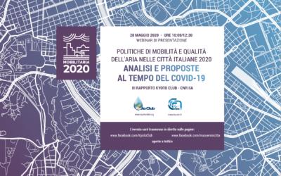 Presentazione Rapporto MobilitAria 2020
