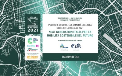 "Presentation of the ""MobilitAria 2021"" report"