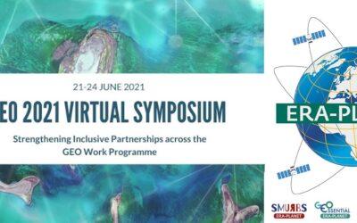Il 24 giugno ERA-PLANET partecipa al GEO Virtual Symposium 2021