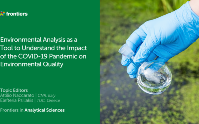 Environmental analysis as a tool to understand the impact of the COVID-19 pandemic on environmental quality