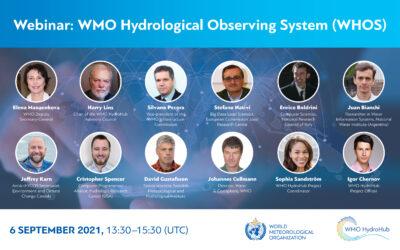 Webinar WMO Hydrological Observing System (WHOS)